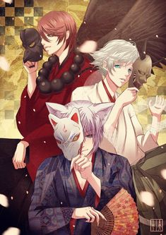 Kurama, Tomoe and Mizuki Siguenos en https://www.facebook.com/pages/EXPONLINE/141220162699654