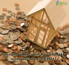 Majority of home buyers opted for mid-range apartments priced between Rs 30 lakh and Rs 60 lakh at the seventh edition of the Fairpro 2014.