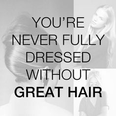 SO TRUE!! Hair can make or break your look!  #hairstyle #hair #haircare #hairproducts #greathair #beautifulhair #beautiful #gorgeous #pretty #special #lovely #organic #organichaircare #natural