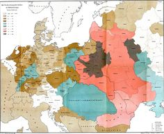 An 1881 map of Central Europe's Jewish population .