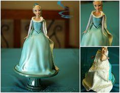 "Custom Cakes By Stef: Disney's ""Frozen"" - Elsa Doll"