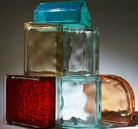 Colored Glass Block, Frosted Glass Block, Stained Glass Alternative - Innovate Building Solutions