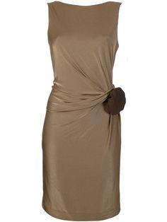 Gucci Draped Sleeveless Dress