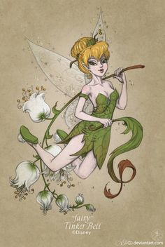 423 fairy Tinker Bell by GALEKA-EKAGO on DeviantArt
