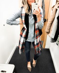 Crew Factory to see their new arrivals and put together some fun layered  looks for fall Keep scrolling for my J. Crew Factory try on! ec69fe010c57