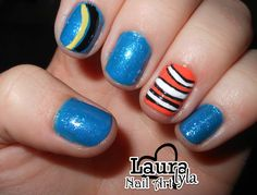 Finding Nemo Nails!! :) These look pretty easy too!