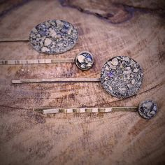 PRESERVE.us - Crushed Pyrite Hair Pins - Set of 4 - Ladies - Shop