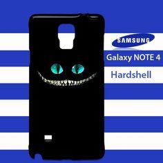 Alice Wonderland Cheshire Cat Samsung Galaxy Note 4 Case Cover