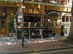 12 Literary Spots In London That Every Book Lover Needs To Visit - The Fitzroy Tavern (frequented by George Orwell and Dylan Thomas) Literary Travel, Empire Of Storms, European Tour, Life Is A Journey, London Calling, British Isles, Book Lovers, Places To See, The Neighbourhood