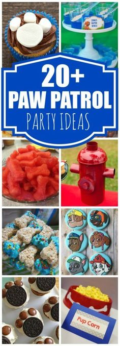 20+ Creative Paw Patrol Party Ideas   Pretty My Party