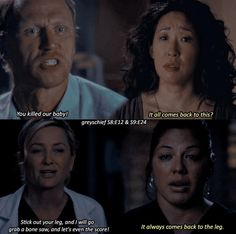 Owen, Cristina, Arizona, and Callie