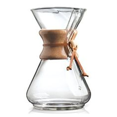 Amazon.com: Chemex 6-Cup Classic Series Glass Coffee Maker: Office Products