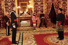 Foro Hispanico de Opiniones sobre la Realeza: El rey Felipe recibe cartas credenciales de embajadores en el Palacio Real