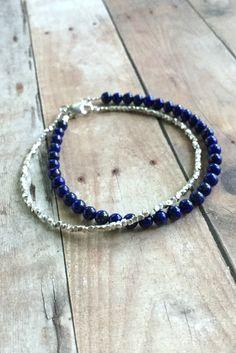 Hill Tribes Silver Bracelet, Tiny Sterling Silver Bead Bracelet, Fine Silver Jewelry