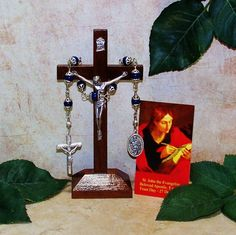 Unbreakable Catholic Chaplet of St. John the Evangelist and Apostle - Patron Saint of Friendships by foodforthesoul on Etsy