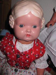 alte-Schildkroet-Puppe-Baerbel-45-cm-sehr-gute-Erhaltung-Sammlungsaufloesg