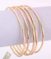Gold and Coral Pink Bangles, Gold Bangle Fashion jewellery Bracelet, gold and pink fashion bangles, summer bracelet ideas, summer jewellery 2014, Sophies Jewellery Box