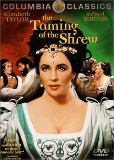 Rent The Taming of the Shrew starring Elizabeth Taylor and Richard Burton on DVD and Blu-ray. Get unlimited DVD Movies & TV Shows delivered to your door with no late fees, ever. Elizabeth Taylor Movies, Richard Burton Elizabeth Taylor, Burton And Taylor, Film Elizabeth, Shakespeare Movies, Shakespeare Plays, William Shakespeare, Nostalgia, Old Movies
