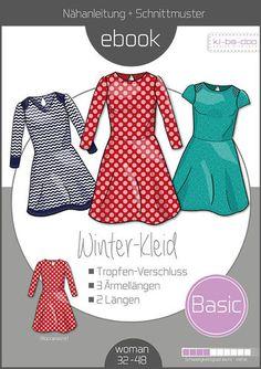 E-Book//Schnittmuster im PDF Format Shirt Lady Summer Damen Gr 32-48 per Email