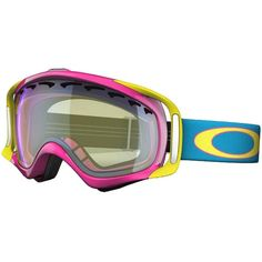 Oakley Crowbar Goggles ❤ liked on Polyvore featuring snowboard