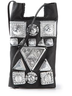 Men - Ktz Medium Studded Pouch - WOK STORE