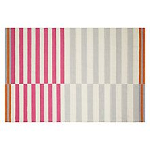 House by John Lewis Emmett Rug pink / orange
