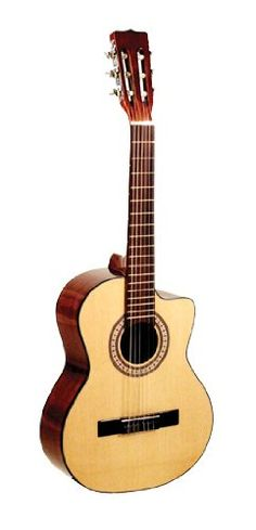 Lucida LG-RQ1 Requinto. Spruce Top. Mahogany Back, Sides & Neck. Satin Finish. Nickel-Plated Tuning Machines.