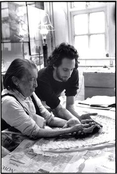 Rare, Candid Photos Show Louise Bourgeois in Her Home and Studio   Hyperallergic   Bloglovin'