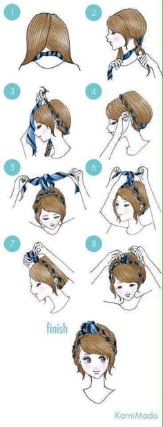 25+ Easy Ways To Tie Up Your Beautiful Locks.