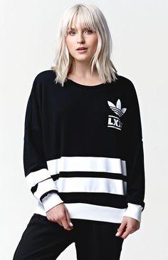 Berlin 3 Stripe Crew Sweatshirt