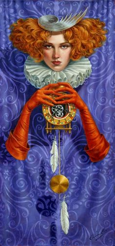 Levity Of Time by Michael Cheval  2017