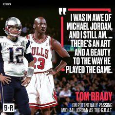 Tom Brady Talks Jordan. #repre23nt