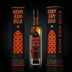 Krambambula Bitters on Packaging of the World - Creative Package Design Gallery