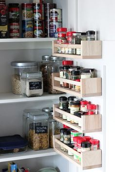 ikea billy bookcase pantry hack ikea billy bookcase ikea billy and small spaces - Ikea Kitchen Organization Ideas