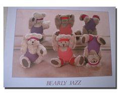 Bearly Jazz Cute Kids Stuffed Bear Dance Wall Decor Art P... https://www.amazon.com/dp/B008LATJWG/ref=cm_sw_r_pi_dp_x_M16wybYZ6W9PE