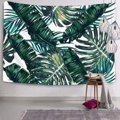 Tapestry Wall Hanging Palm Tree Leaves Tapestry Bohemian Tapestry Wall Tapestry Micro Fiber Peach Home Decor Elephant Tapestry, Dorm Tapestry, Blue Tapestry, Tapestries, Tapestry Nature, Bohemian Tapestry, Mandala Tapestry, Palm Tree Leaves, Background Decoration
