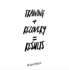 So many people get wrapped up in their training and think that it's the only thing that matters. Training is only 20% of the equation. It provides the stimulus for what's next. The other 80%? Recovery. But it's how you recover from your training, that's what matters most. What's your favorite way to recharge? #entrepreneur #mentor #mastermind What Matters Most, What Next, S Quote, Equation, Recovery, Entrepreneur, Training, People, Instagram