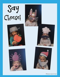 PHOTO BOOTH CALENDAR WITH PROPS {GIFT BOOK}