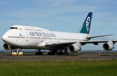 Boeing 747-4F6 (Air New Zeland) | Nova Zelandia