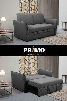 Arnaldo - Media Sleeper  #mediasleeper  #sofa  #sleepersofa  #couch #furniture Small Space Solutions, Sleeper Sofa, Small Spaces, Couch Furniture, Sofa Bed, Lounge Furniture, Queen Sofa Sleeper, Small Space, Sofa Sleeper