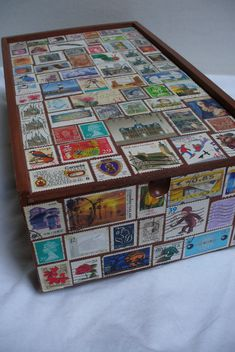postage stamp box | Tally's Treasury