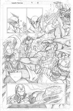 Avengers Assemble Issue 09 Page 18 by Sandoval-Art.deviantart.com on @deviantART