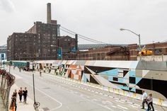 Rubin415 - Domino Sugar, Brooklyn, New York, 2014 #mural