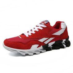 Sport Shoes for Adult Sneaker Althetic Wave Blade Bottom Sneakers Massage  Sole Men Summer Mesh Tennis Plus Size 39-48 Dropship 85e6e0f6bd53