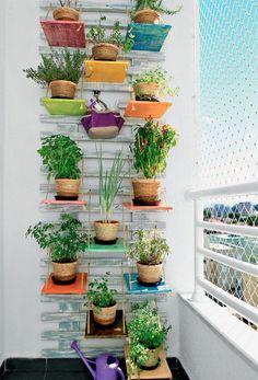Horta de apartamento