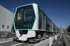 #MITSUBISHI Heavy Industries has delivered the first of three six-car 2020 series rubber-tyred metro trains to Saitama New Urban Transit for use on its Ina Line New Shuttle automated guideway transit (AGT) line in the Tokyo suburbs.
