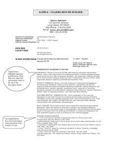 usajobs online resume builder httpwwwjobresumewebsiteusajobs - Usajobs Resume Format