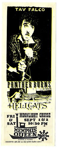 Tav Falco & Panther Burns poster