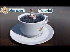 Blender Tutorial: Creating an Ocean in a Cup | Beginner to Indermediate - YouTube
