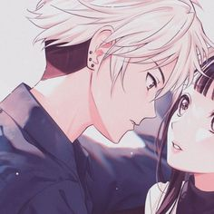 Best Anime Couples, Anime Best Friends, Anime Love Couple, Aries Aesthetic, Aesthetic Roses, Aesthetic Anime, Cute Anime Profile Pictures, Matching Profile Pictures, Anime Couples Drawings